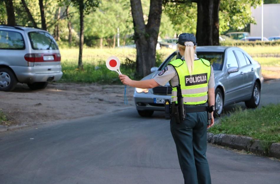 Policija prašo atsiliepti mačiusius įvykį asmenis