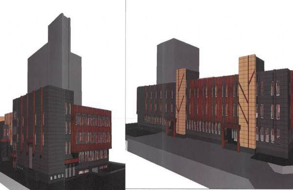 Kaip atrodys JKC pastatas po renovacijos - pateikiama vizualizacija