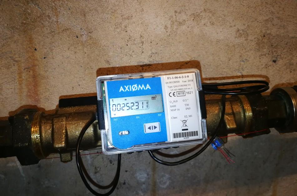 Jonavoje pirmasis ultragarsinis vandens apskaitos prietaisas