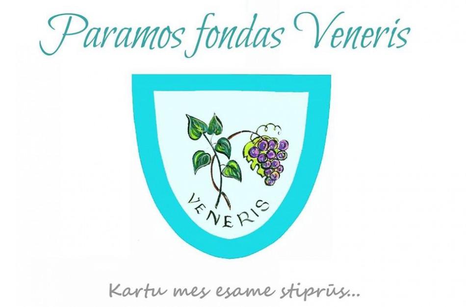 """Paramos fondo """"Veneris"""" padėka"""