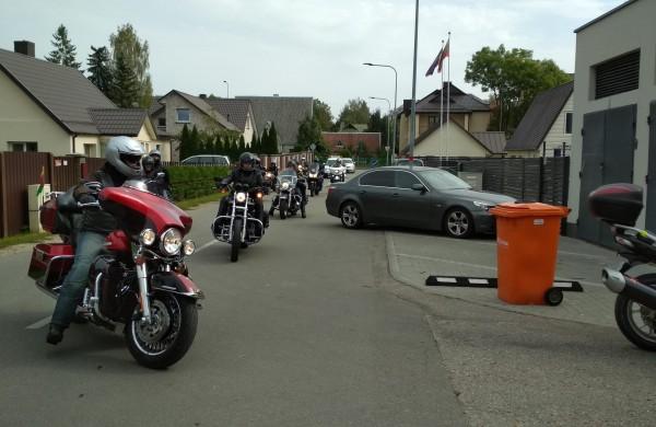 Lietuvos motociklininkai - už saugumą keliuose