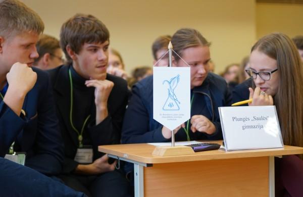 Ketvirtasis respublikinis dr. Bronislovo Lubio chemijos konkursas