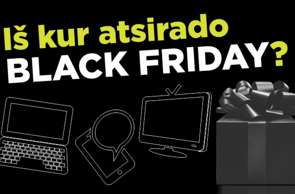 """Juodasis penktadienis (""""Black Friday"""") – kas tai ir iš kur atsirado?"""