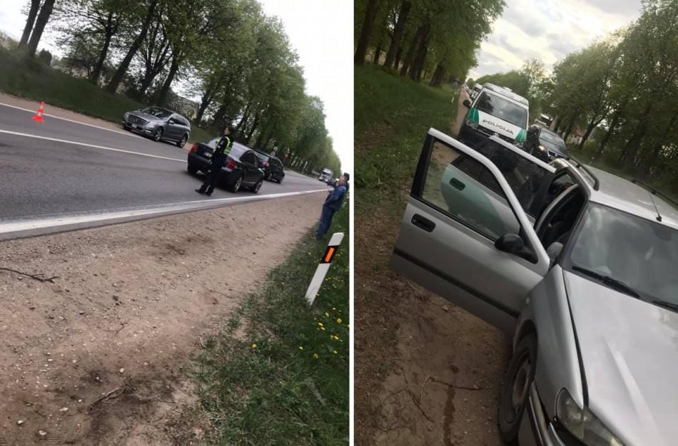 Peugeot vairuotojas – neįgijęs teisės vairuoti, o automobilis be techninės apžiūros ir draudimo