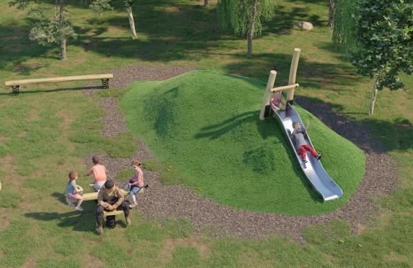 Prasideda naujos vaikų žaidimų aikštelės įrengimo darbai
