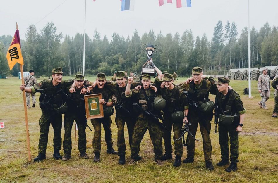 Paaiškėjo geriausias Lietuvos kariuomenės Sausumos pajėgų pėstininkų skyrius