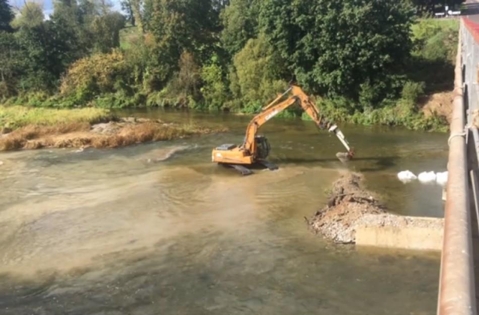 Paaiškėjo, kad tilto remonto darbų techninis projektas nesuderintas su aplinkosaugininkais