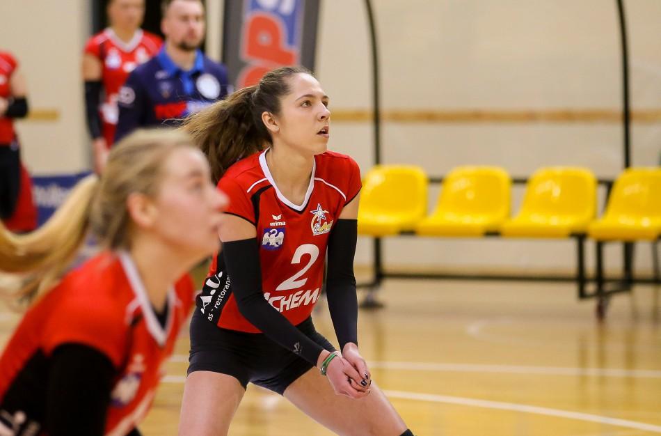 """G. Grudzinskaitės vedama """"Aušrinė-KKSC"""" tapo Lietuvos moterų tinklinio čempionato lydere"""