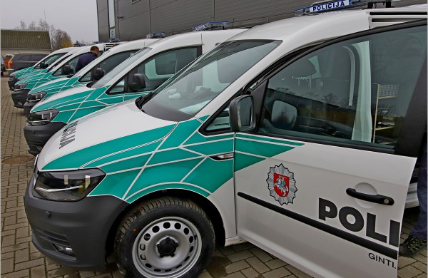 Policijos automobilių parkui - daugiau nei 100 naujų automobilių
