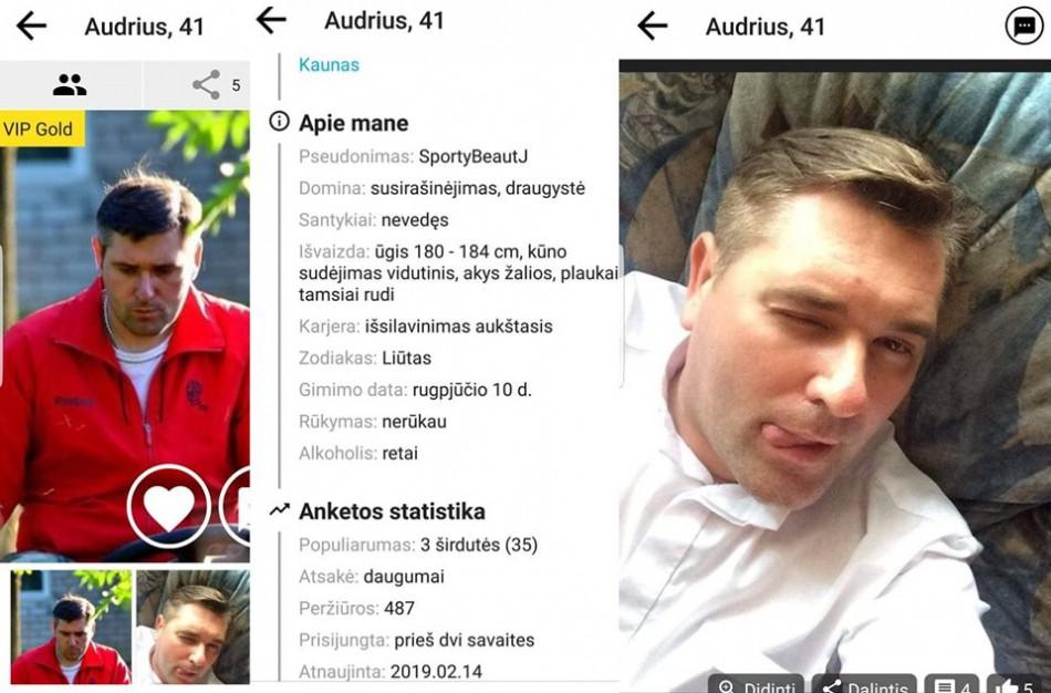 Pažinčių svetainėje - A. Mikitiuko nuotraukos: kunigas tikina, jog jos buvo pasisavintos be jo žinios
