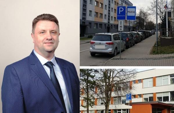 G. Jasiulionis dėl parkavimosi leidimo: tai nėra privilegijos, tai – politiniai žaidimai
