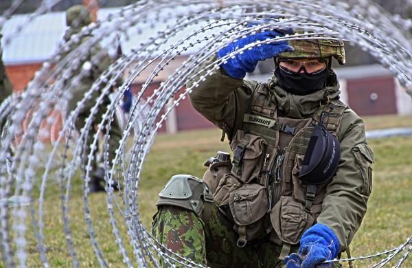 """Karo inžinierė šauktinė G. Telšinskaitė: """"Daugeliui gal sunku suvokti, jog nebūtinai reikia karo, kad vykdytum priesaiką"""""""
