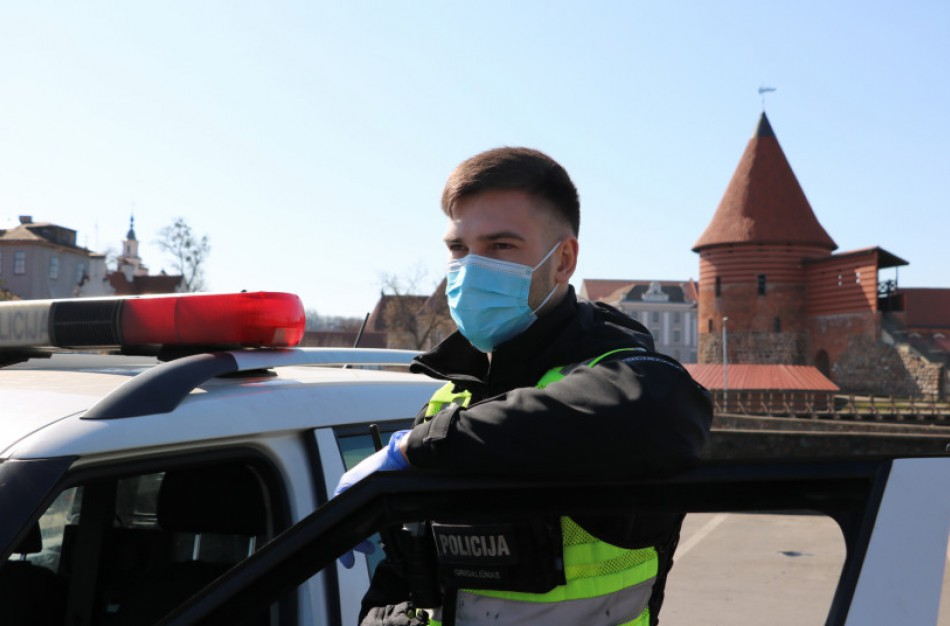 Karantinas ilgąjį savaitgalį: Kauno apskrityje surašyti 25 protokolai, 5 iš jų Jonavos r.