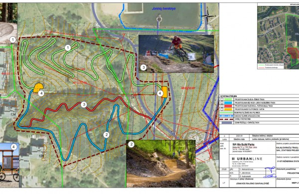 Joninių slėnyje planuojama įrengti Kalnų dviračių trasas - visuomenė kviečiama aptarti projektinius pasiūlymus