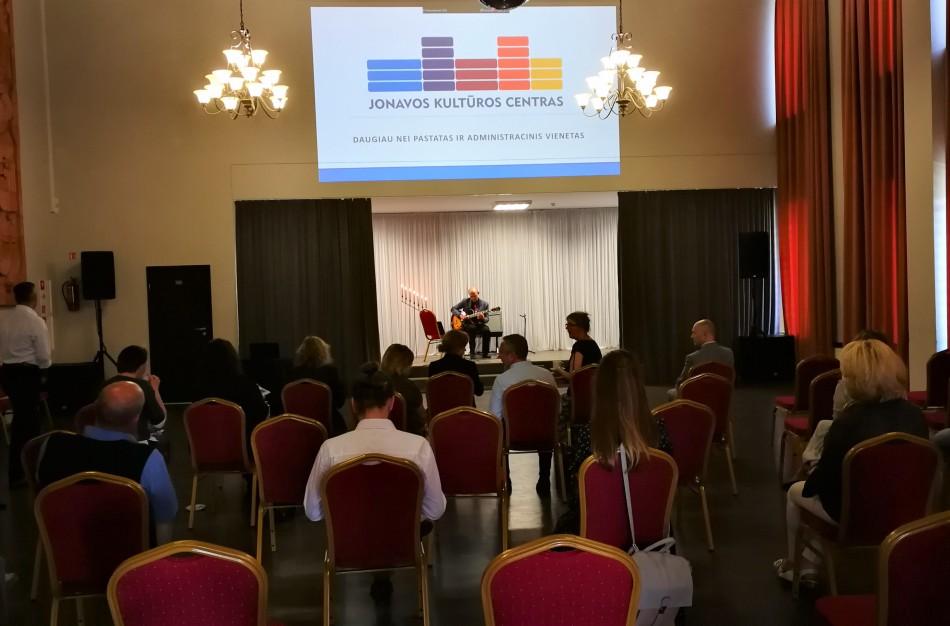 """JKC pretenduoja į """"Geriausias 2019 kultūros centras"""" nominaciją"""