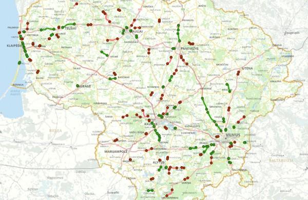 Kelyje Jonava - Kaunas įrengti nauji įspėjamieji ženklai: KET pažeidėjams teks susiimti