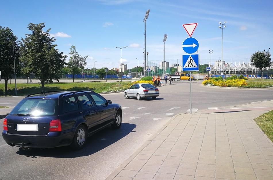 Kaip noriu, taip važiuoju: vairuotojai nepastebi ženklo ar tiesiog ignoruoja jį?