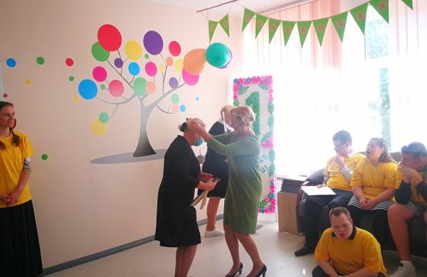 """""""Dienos socialinės globos centras"""" mini vienerių metų sukaktį"""
