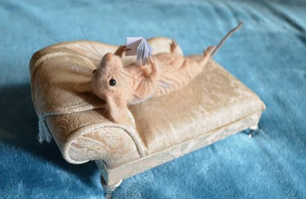 Jonavietės rankose gimstantys kūriniai atima žadą: vilna virsta gyvybe alsuojančiomis gyvūnų skulptūrėlėmis