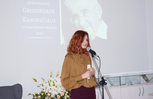 Grigorijaus Kanovičiaus literatūrinė premija ir atversti istorijos puslapiai