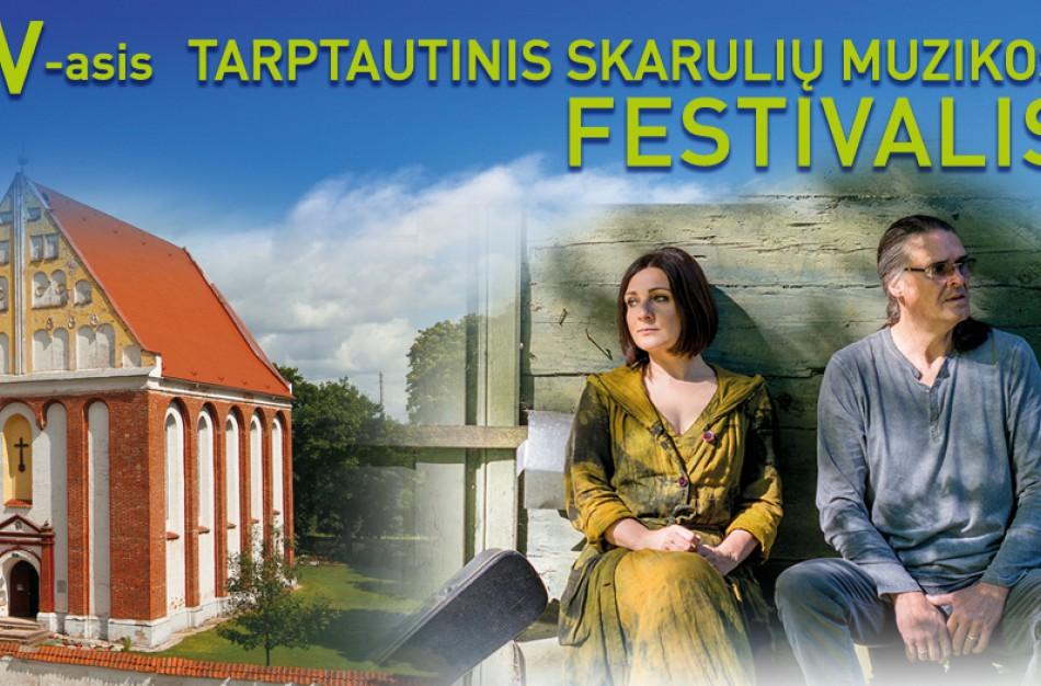 Skarulių muzikos festivalio koncerte – Nedos Malunavičiūtės ir Olego Ditkovskio dainos