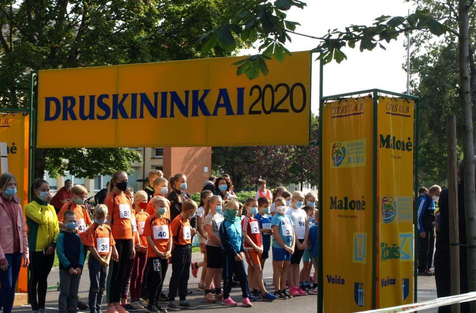 """Jonaviečių pergalės ir asmeniniai rekordai sportinio ėjimo varžybose """"Druskininkai 2020"""""""