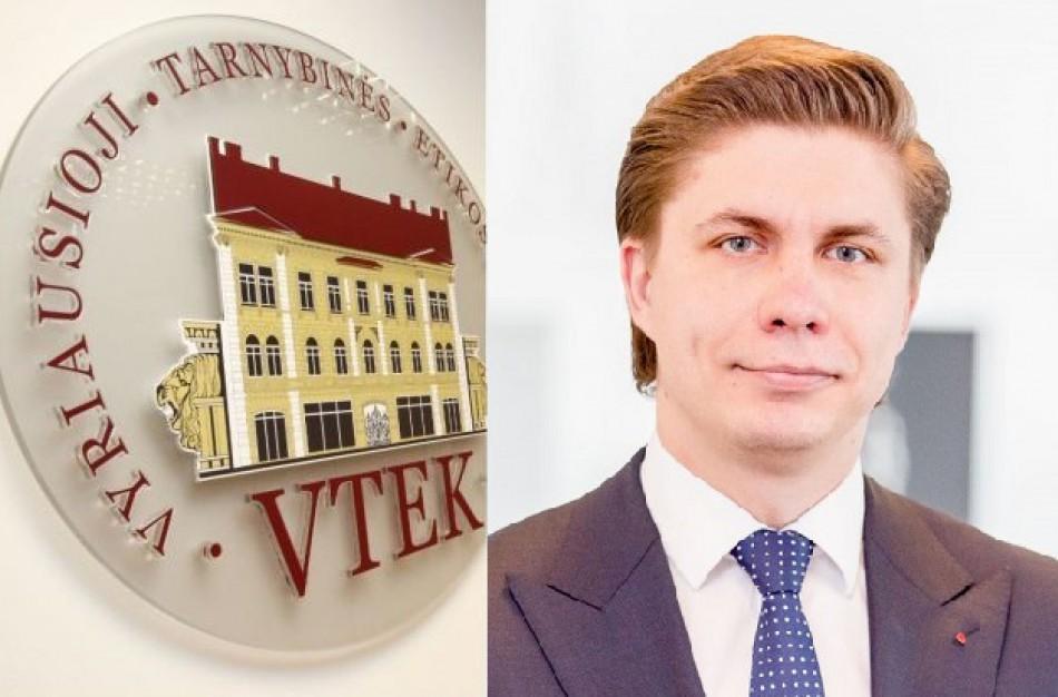 VTEK svarstys Jonavos rajono savivaldybės mero M. Sinkevičiaus elgesį