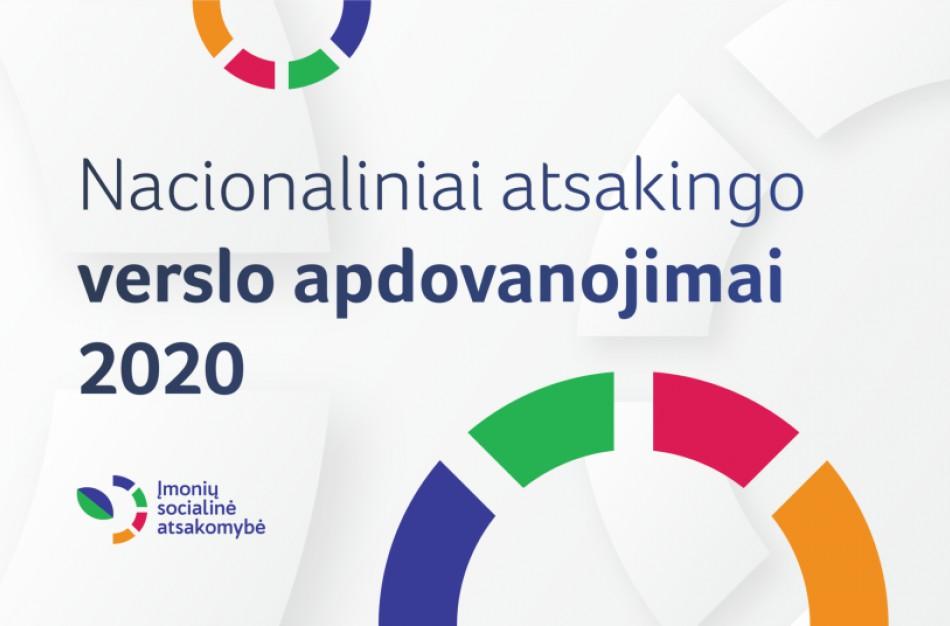 Nacionaliniai atsakingo verslo apdovanojimai 2020: skelbiamas paraiškų teikimo startas