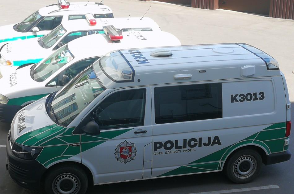 Atsižvelgiant į pandemiją keičiasi policijos darbo organizavimas