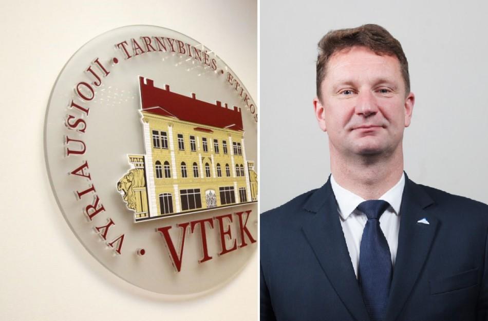 VTEK tirs rajono savivaldybės tarybos nario S. Jakimavičiaus elgesį