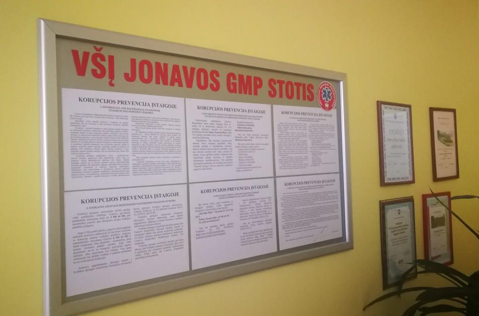 Mero potvarkis dėl konkurso paskelbimo eiti  VŠĮ Jonavos GMP stoties  direktoriaus pareigas