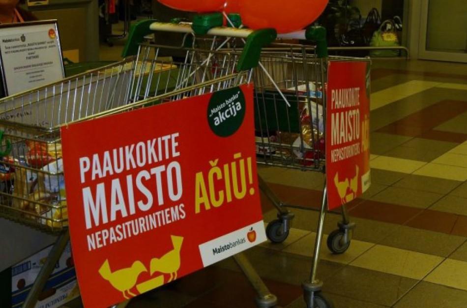"""""""Maisto bankas"""" vykdys tradicinę maisto produktų rinkimo nepasiturintiems akciją"""