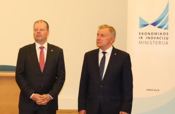 Rimantu Sinkevičiumi pasitiki Ministras Pirmininkas S. Skvernelis bei kitos rajono politinės jėgos