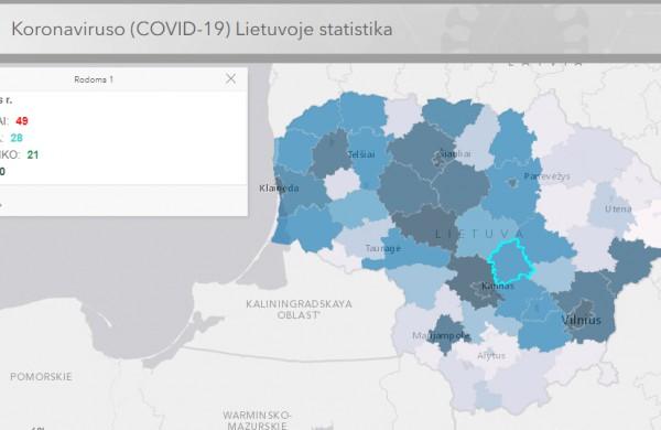 Karantinai atskirose savivaldybėse - kaip jų akivaizdoje atrodo Jonava?