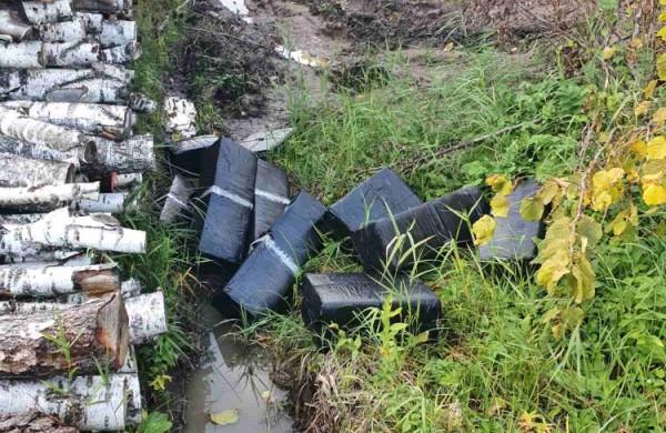 Jonavos rajone sulaikyta 9500 pakelių cigarečių