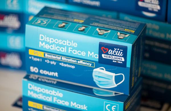"""Visose šalies """"Maximos"""" parduotuvėse pirkėjams kaukės bus išduodamos nemokamai"""
