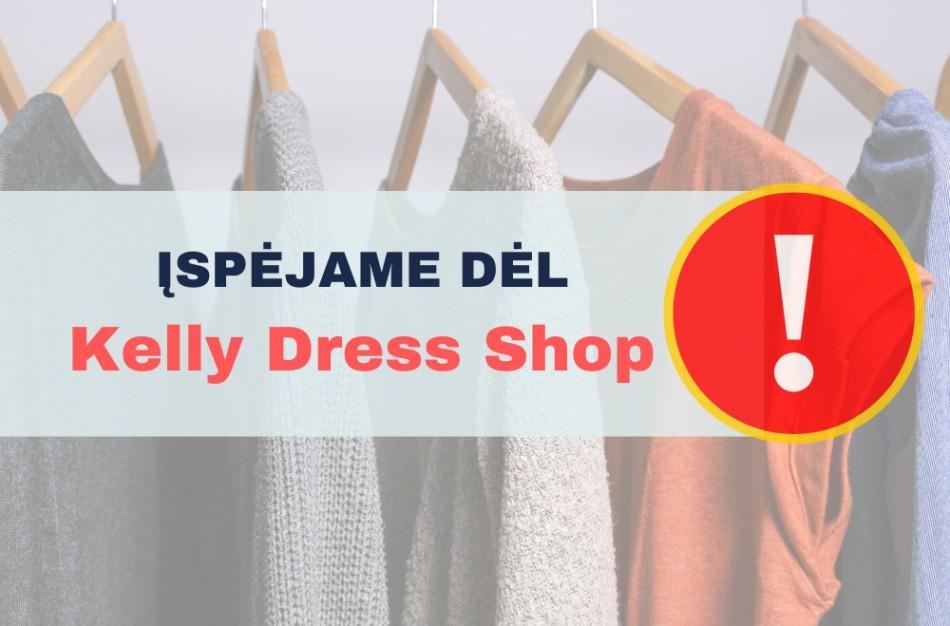 """VVTAT įspėja dėl """"Kelly Dress Shop"""""""
