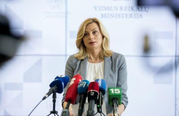 Ministrė R. Tamašunienė: savivaldybės, esančios geltonoje zonoje, turėti būti pasiruošusios