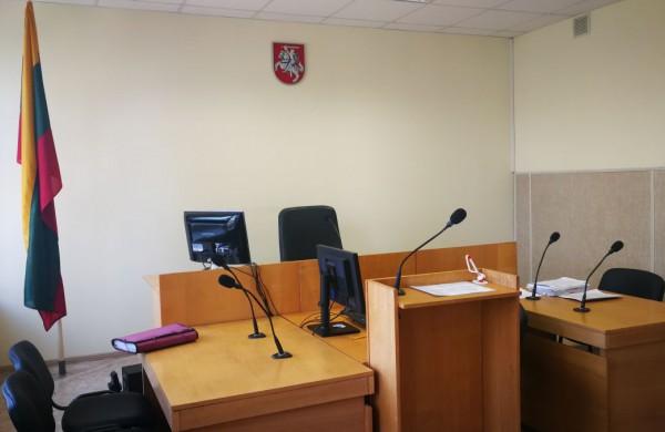 Informacija apie Kauno apylinkės teismo darbo organizavimą