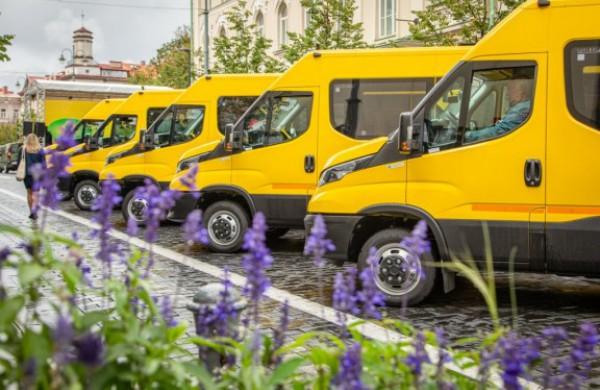 Lapkritį į mokyklas išriedės dar 40 geltonųjų autobusiukų