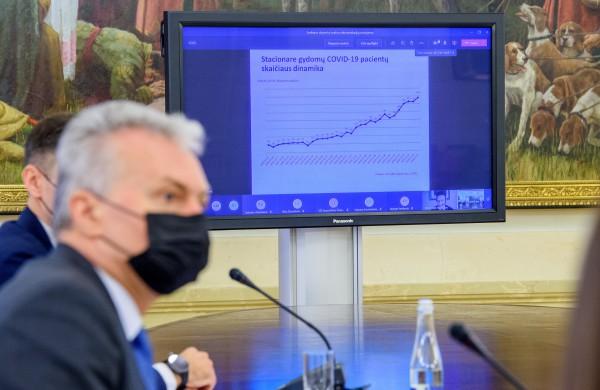 Sveikatos ekspertų taryba siūlo plėsti COVID-19 testavimo pajėgumus