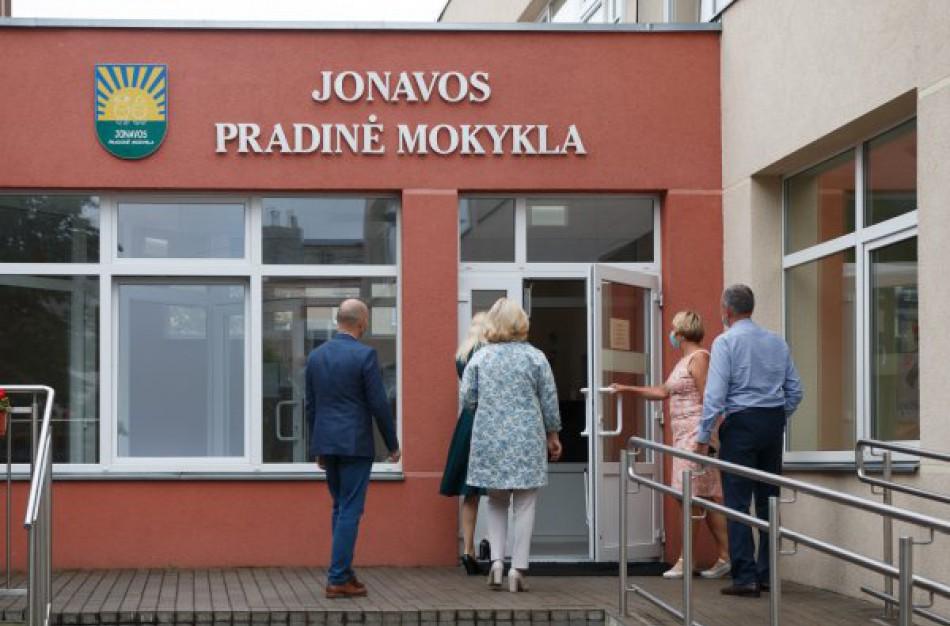 Nustačius COVID-19 židinį, užsidaro Jonavos Pradinė mokykla