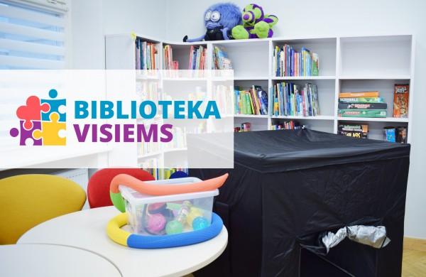 Jonavos rajono savivaldybės Viešoji biblioteka tampa draugiška autizmui