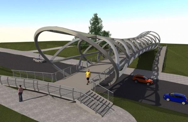 Į Jonavą atkeliaus pėsčiųjų tilto konstrukcijos