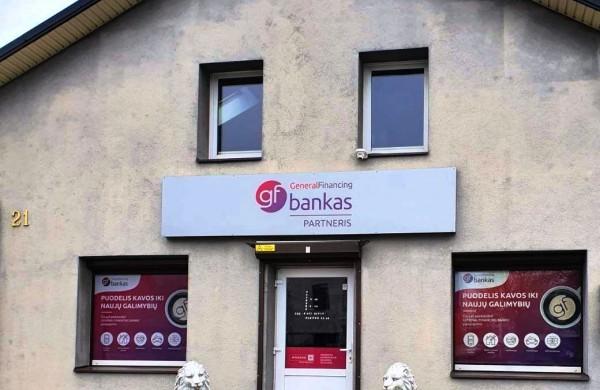 GENERAL FINANCING BANKAS plečia jonaviečiams teikiamų paslaugų spektrą