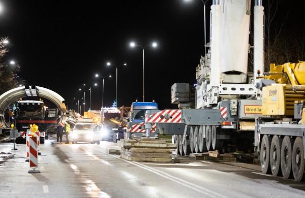 Naujojo tilto konstrukcijos - jau Jonavoje