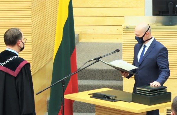 Eugenijus Sabutis įgijo visus tautos atstovo įgaliojimus