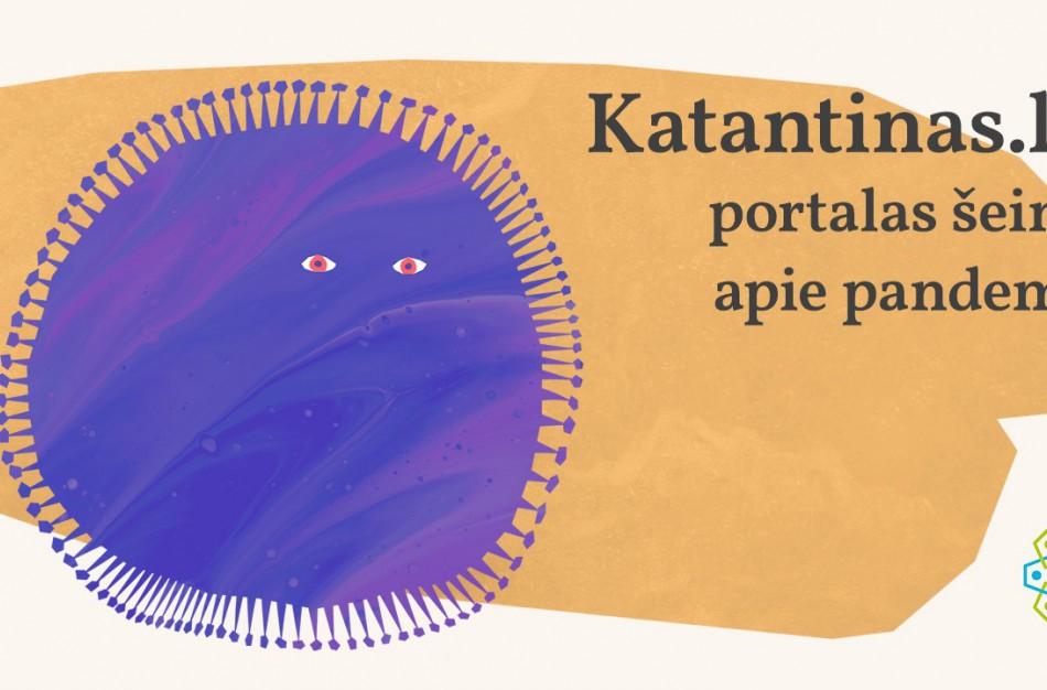 """Startuoja portalas mažiesiems """"Katantinas.lt"""" – padės spręsti kylančius iššūkius pandemijos metu"""