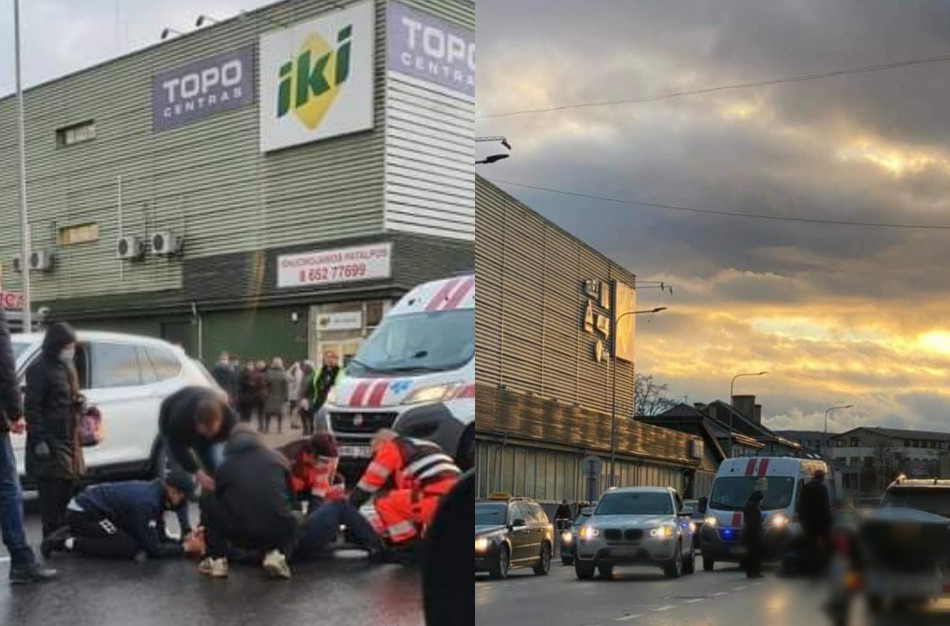 Miesto centre visureigis partrenkė 87 metų moterį