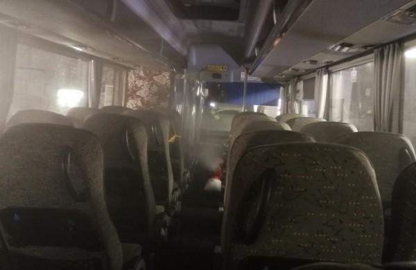 """Bendrovėje """"Jonavos autobusai"""" naujas dezinfekavimo įrenginys"""